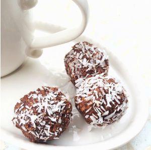 Recette Boules au chocolat et aux amandes, friandises avant Noël