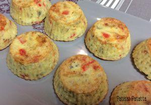 Recette Muffins semoule et légumes