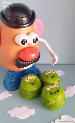 Recette Trop choux les Aliens Toy Story