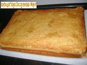 Recette Gâteau aux chamallows :