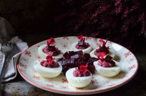Recette Oeuf mimosa rose