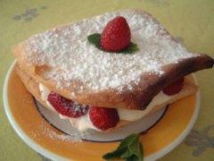 Recette Feuilleté aux fraises