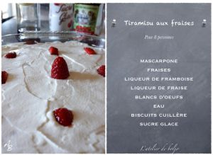 Recette Tiramisu aux fruits rouges sans jaune d'oeufs