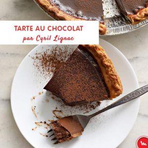 Recette Tarte au chocolat de Cyril Lignac