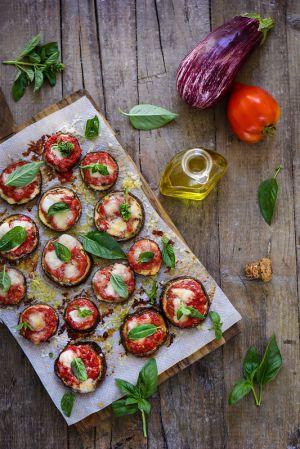Recette Pizza d'aubergines (sans pâte)