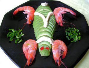 Recette Crevettes - Avocat