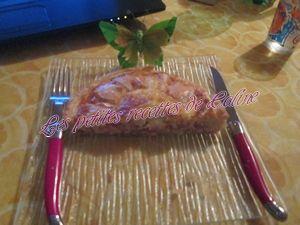 Recette Tarte aux lardons et camembert