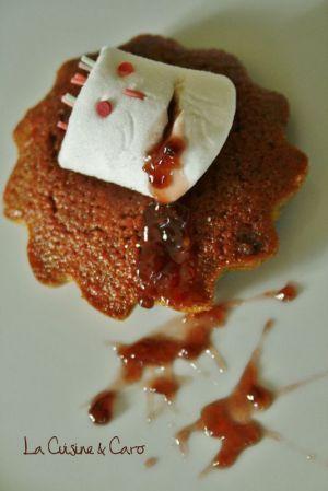 Recette Chamallow assasiné sur son cake à la Betterave
