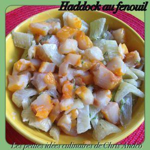 Recette Haddock au fenouil