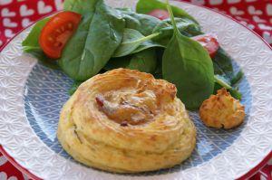 Recette Nids de pommes de terre, lardons et camembert fondant au Cook Expert de Magimix