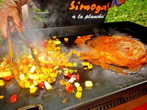 Recette Plancha - jambon au curry coco
