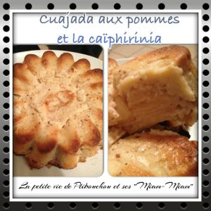Recette Cuajada aux pommes et la caïphirinia