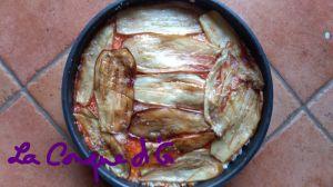 Recette Gratin de riz aux aubergines frites à la palermitaine