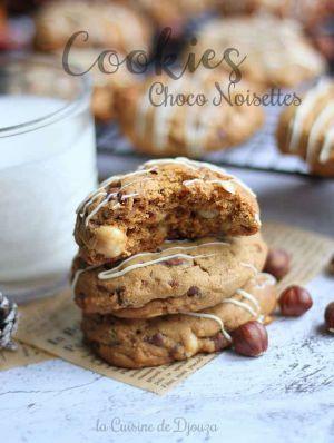 Recette Cookies Gourmands aux Noisettes et Chocolat