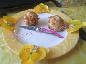 Recette Croquettes de Surimi