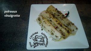 Recette Poireaux vinaigrette (cookeo)