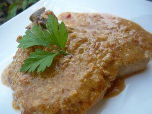 Recette Côtes de porc au curry