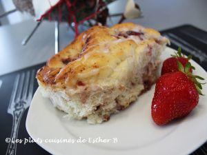 Recette Brioches aux fraises, banane et chocolat