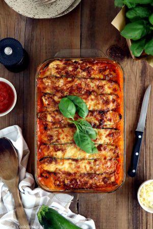 Recette Lasagnes végétariennes aux courgettes (+ vidéo)