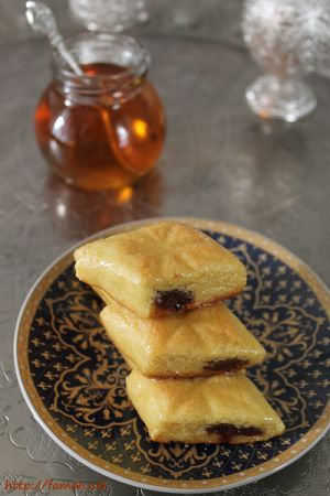 Recette Makrout aux dattes cuit au four