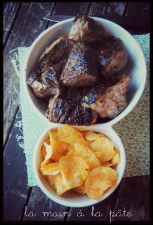 Recette Rouelle de porc au barbecue
