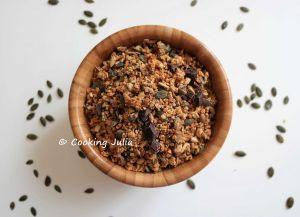 Recette Granola gourmand coco-choco
