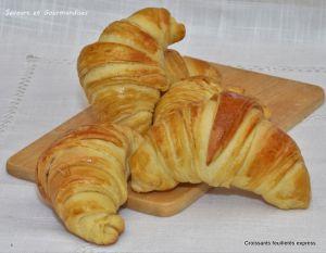 Recette Croissants feuilletés express