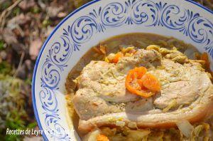 Recette Rouelle de porc a la moutarde d'apres mr hugo desnoyer (recette facile)