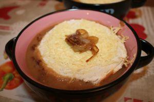 Recette Soupe à l'oignon gratinée au cookeo