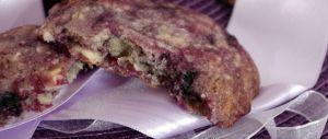 Recette Cookies aux myrtilles… Et nos papilles retrouvent des couleurs