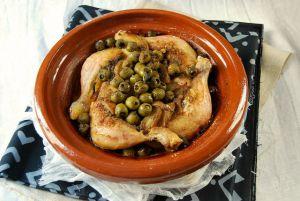 Recette Cuisse de poulet au four à l'olive
