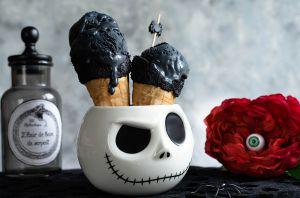 Recette Glace noire vanille charbon végétal