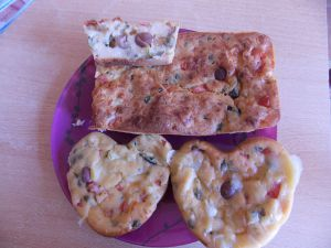 Recette Cake thon-courgettes