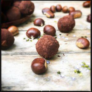 Recette Mes truffes choco/marron