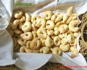 Recette Nouvelle spécialité des Pouilles: La recette des tarallini