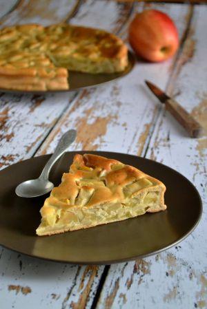 Recette Gouéron, gâteau aux pommes charentais
