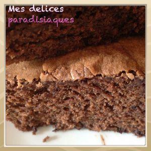Recette Cake au chocolat et au cumin