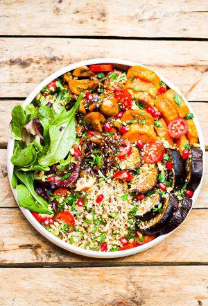 Recette Mon quinoa bowl