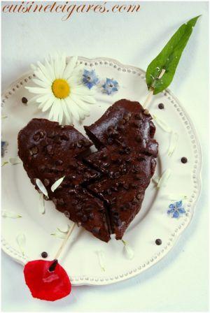 Recette Brownies aux Haricots noirs et au Chocolat (sans gluten)