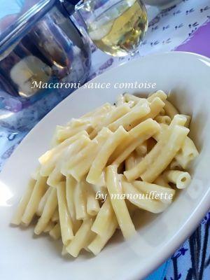 Recette Macaroni sauce comtoise