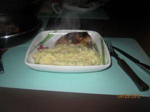 Recette Risotto au parmesan