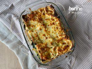 Recette Lasagnes au chou kale et à la ricotta