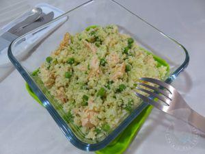 Recette Taboulé au saumon et concombre
