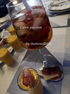 Recette Cava passion façon Zoé