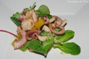 Recette Salade de poulpes