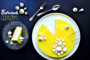 Recette Entremets citron {façon tarte au citron meringuée}