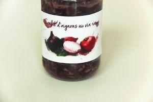Recette Confit d'oignons rouges au vin rouge