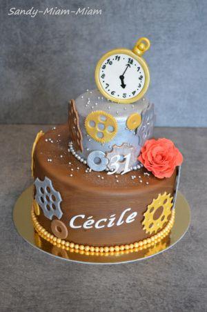 Recette Gâteau pâte à sucre Les rouages du temps