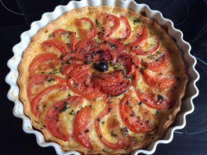 Recette Tarte tomates mozzarella