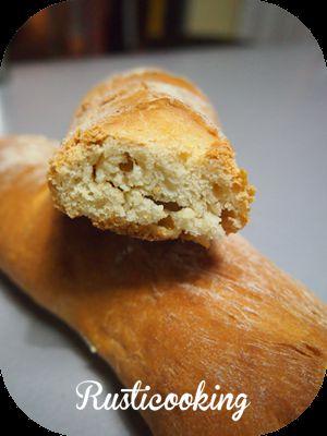 Recette Baguette de pain maison à la machine à pain
